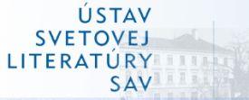 Ústav svetovej literatúry SAV