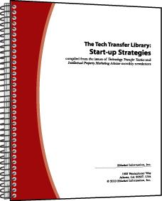 The Tech Transfer Library: Start-up Strategies