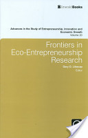 Frontiers in eco-entrepreneurship research