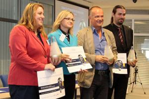 Víťazy súťaže Cena za transfer technológií na Slovensku - ročník 2015