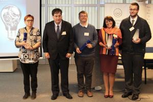 víťazi súťaže Cena za transfer technológii na Slovensku 2017